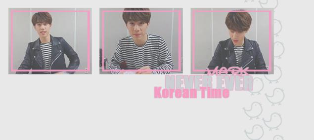 mark korean time