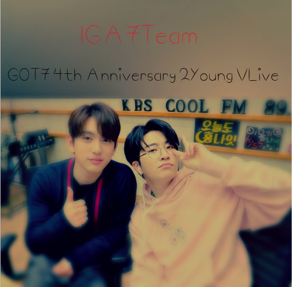 Got th anniversary young vlive iga team